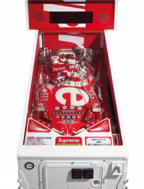 SUPREME STERN PINBALL MACHINE SUPREME OBJECTS handbags x hype christies FashionDailyMag fashion brigitteseguracurator