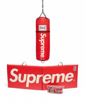 AN EVERLAST BOXING GROUP SUPREME OBJECTS handbags x hype christies FashionDailyMag fashion brigitteseguracurator