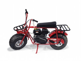supreme COLEMAN CT200U MINI BIKE & A FOX RACING RED V2 HELMET SUPREME OBJECTS handbags x hype christies FashionDailyMag fashion brigitteseguracurator