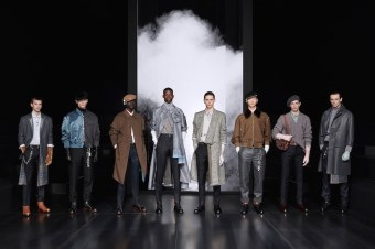 DIOR MEN'S WINTER 20 21 - GROUPSHOT BY BRETT LLOYD FOR DIOR fashiondailymag brigitteseguracurator copy