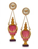 LOT 1_IMPORTANT UNSIGNED CHANEL OVERSIZED FAUX PEARL AND RESIN EARRINGSJEWEL HAPPY FASHIONDAILYMAG brigitteseguracurator