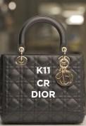 Dior - savoir-faire of the French Couture House K11 CR fashiondailymag brigitteseguracurator 1 LADY DIOR BAG K11 CR DIOR