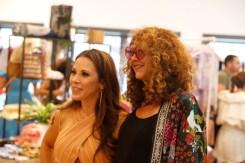 brigitte segura mickie james hamptons fashion week