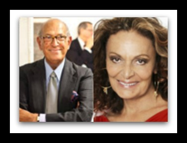 DVF and Oscar de la Renta