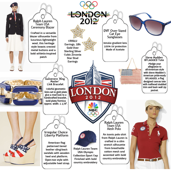 Olympic-Inspired Fashion