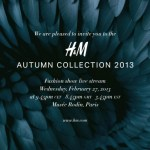Live Stream Of H&M's Show At Paris Fashion Week: Watch on FDG