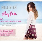 Lucy Hale designs limited collection for Hollister