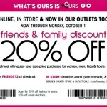 Bloomingdale's Friends and Family Sale 2012: Starts Sept 25