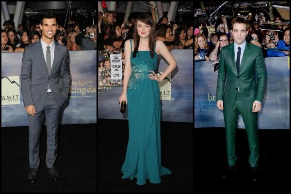 The Twilight Saga: Breaking Dawn - Part 2 red carpet arrivals