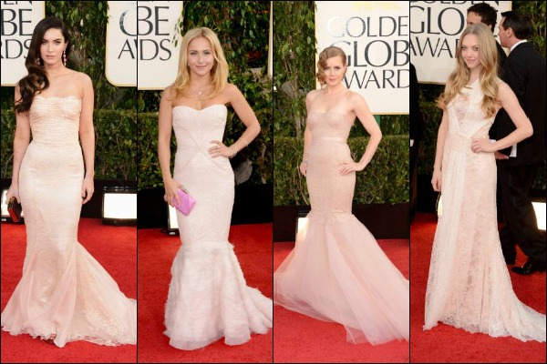 Golden Globe Awards 2013 Red Carpet Fashion