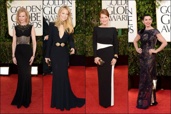 Golden Globe Awards 2013 Red Carpet Fashion