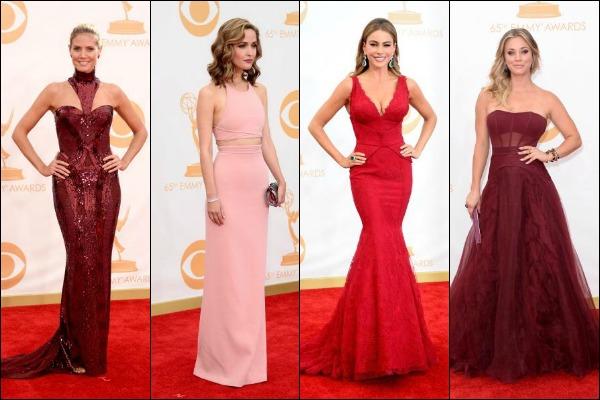 Emmy Awards 2013 Red Carpet Fashion