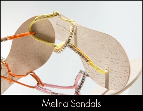 Corinna Saias Melina Sandals