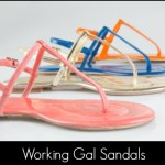 Corinna Saias Working Gal Sandals