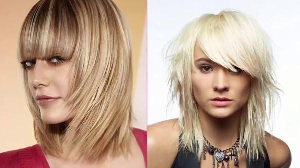 Стрижки на средние волосы каскад женские фото: модные ...
