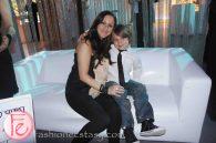 David Cornfield's wife & child