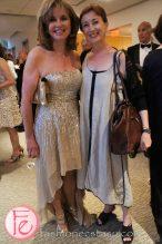 wearing: Dolce&Gabbana (left)