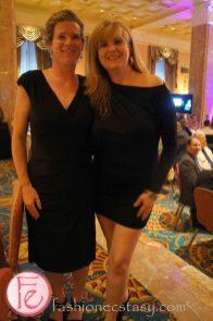 Lucy Ross wearing Calvin Klein (Left), Catherine Joell MacKinnon wearing Sen (Right)