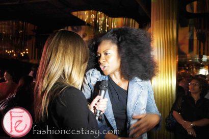 Jully Black @ Walk the One Way Diesel Fashion Show