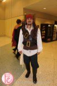 2012 Brazilian Carnival Ball Captain Jack Sparrow