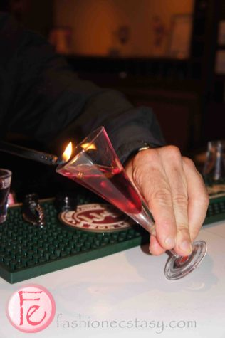 Flaming Sambuca @ Key to Atlantis