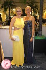 2012 Brazilian Carnival Ball wearing: BCBG (Left & Right)