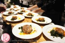 Eramosa Heritage Pork with Carrot, Orange, Kale and Goat Cheese by Chef Brad Lomanto, Cambridge Mill @ 2012 Taste Canada - The Food Writing Awards