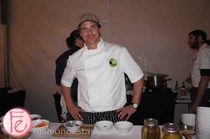 Smoked Miso Chowder with BBQ Squid by Chris Brown, The Stop Community Food Centre