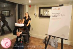 Massage station @ Octaspring Dream Lounge Pop Up Event