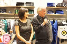 Bernadette Morra and David Livingston - Hugo Boss Yorkdale Grand Opening Party ft. Fashion Magazine Trend Report