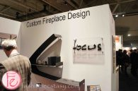 Custom Fireplace Design/ Focus @ IDS 2013 Interior Design Show