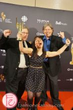 1st Canadian Screen Awards - Television & Digital Media Awards Show - Best Animated Program or Series- Producing Parker (Breakthrough Entertainment)- Ira Levy, Jun Camerino, Laura Kosterski, Peter Williamson
