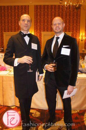 2013 Book Lover's Ball - Christian Cameron & Colin McAdam