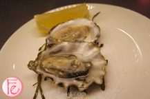 Oysters (Village Bay, NB & Chef's Creek, BC)