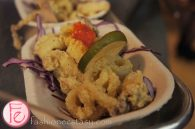2nd Floor Toronto Venue Official Opening Party - deep- fried calamari