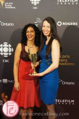 Best Breaking News Coverage- CBC News Now: Jack Layton's Death- Jennifer Sheepy, Seema Patel- 1st Canadian Screen Awards - Television & Digital Media Awards Show