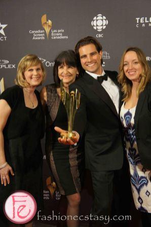 Best Lifestyle Program or Series Income Property (Skit Inc.) Kit Redmond, Jenna Keane, Scott McGillivray, Karen Walters- 1st Canadian Screen Awards - Television & Digital Media Awards Show
