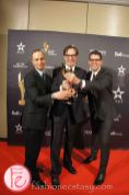 Best National Newscast CBC News The National (CBC) Mark Harrison, Terry Auciello, Michael Gruzuk, Heather McLennan, Fred Parker- 1st Canadian Screen Awards - Television & Digital Media Awards Show