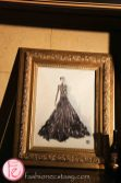 The original sketch of the Baileys dress by Matis