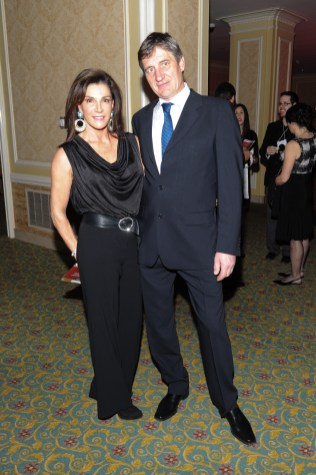Hilary Farr, Andrew Tatarek at Starlight Gala 2013 Celebrity Red Carpet ( photos by George Pimentel)