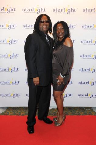 Rudy & Debi Blair at Starlight Gala 2013 Celebrity Red Carpet ( photos by George Pimentel)