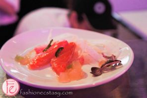 Uniun Nightclub Open House Event - Lightly Cured Salmon Crudo