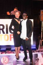 Stacey McKenzie and DJ Tony Okungbowa ( The Ellen DeGeneres Show)