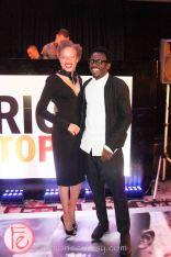 Stacey McKenzie and DJ Tony Okungbowa ( The Ellen DeGeneres Show)