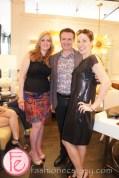 Sharyn Smith, celebrity interior designer Glen Peloso, Taylor Kaye (KiSS 92.5)