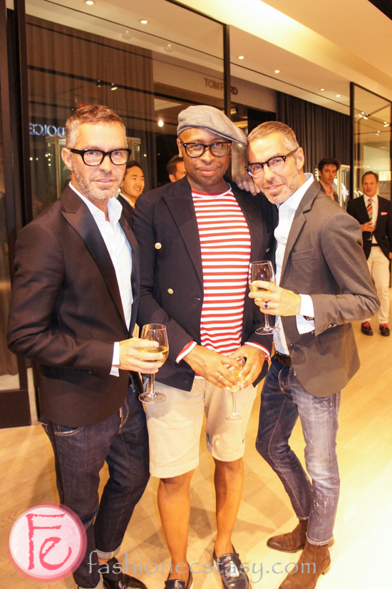Kirk Pickersgill and Dsquared 2