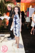 Michelle Levy at Luminato and Yves Saint Laurent Opening Night Party