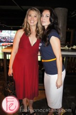 Naomi Snieckus (Bobbi in Mr. D) and Inga Cadranel (Aife or Saskia in Lost Girl and Detective Angela Deangelis in Orphan Black) at Mingle for a Mission 2013