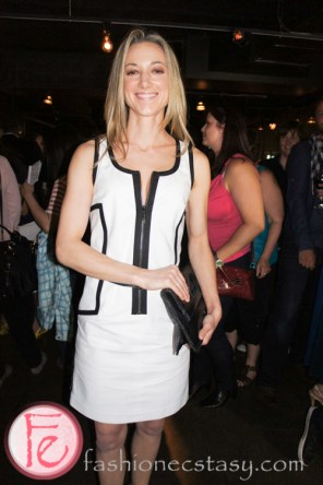Zoie Palmer (Lauren in Lost Girl) at Mingle for a Mission