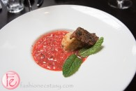 strawberry gazpacho Kultura Summer Menu Tasting